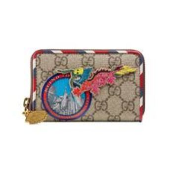 Gucci - Gucci Courrier GG Supreme card case