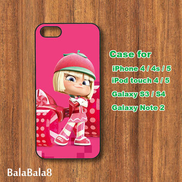 Wreck It Ralph, iPhone  4S case,iphone 5 Case, ipod 4 case,ipod 5 case,galaxy S3 case,galaxy note 2 case,galaxy S4 case,blackberry  Z10 ,Q10