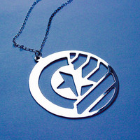 STUCKY Captain America Winter Soldier inspired necklace - 4 colors available