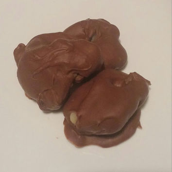 Milk Chocolate, turtles, homemade, pecan clusters, gourmet candy, edible gift, valentines day gift, gourmet chocolate, valentines day candy