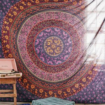 Large Hippie Tapestry Hippy Mandala Bohemian Tapestries Indian Dorm Decor Psych...