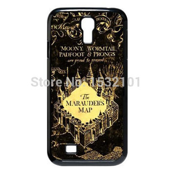 Marauder's Map Harry Potter Cover Case for Samsung Galaxy S3 S4 S5 Mini S6 S7 Edge Note 2 3 4 5 A3 A5 A7 E5 E7 Case