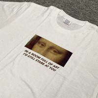 """""""In A Room Full Of Art, I'd Still Stare At You"""" Tee"""