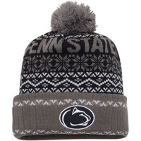 Penn State Nittany Lions Top of the World Ugly Sweater Sprinkle Cuffed Knit Hat - Navy