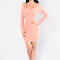 Ferris Wheel Dress - Blush