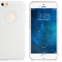 """""""Love"""" White Plastic Case for iPhone 6\6s"""