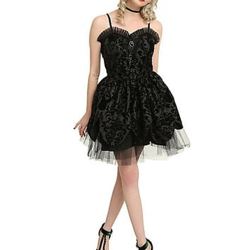 Hell Bunny Victorian Tulle Dress
