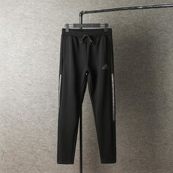 Men Adidas Casual Pants Winter Cotton Thicken Sportswear [103856635916]