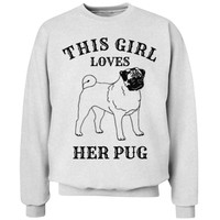 This girl loves her pug: Global