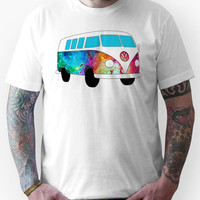 VW Rainbow Hippie Bus! Unisex T-Shirt