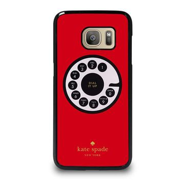KATE SPADE ROTARY DIAL UP Samsung Galaxy S7 Case Cover