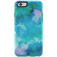 """OtterBox SYMMETRY SERIES Case for iPhone 6/6s (4.7"""" Version) - Frustration Free Packaging - FLORAL POND (TEAL/W FLORAL POND)"""