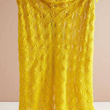 Macrame Throw Blanket