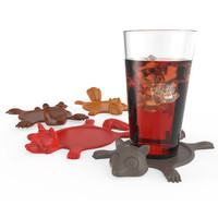 Smashed Animal Coasters