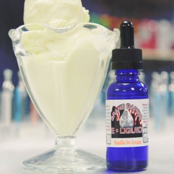 """Vanilla Ice Cream"" Premium E-Liquid"