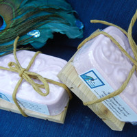 Sage & Pomegranate Scented Natural Goat's Milk Soap