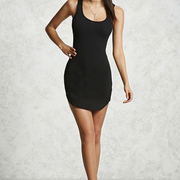 Crisscross Cutout Bodycon Dress