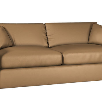 Custom Lazar Industries Sutton Place II Queen Leather Sleeper Sofa
