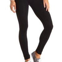 High Waisted Seamless Legging by Charlotte Russe - Black