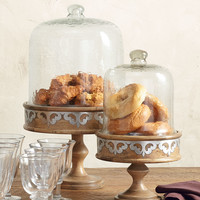 "17"" Serving Pedestal with Dome - GG Collection"