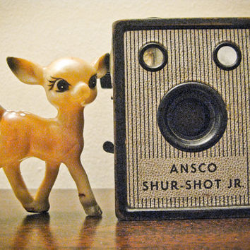 Ansco Shur Shot Junior Made in 1948 Excellent by timepassagesshop
