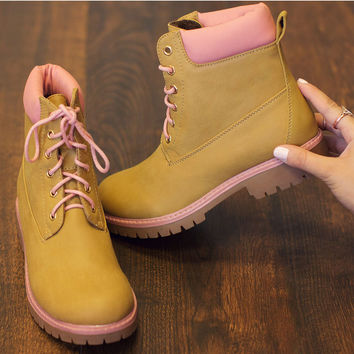 Lizzy Boots - Pink