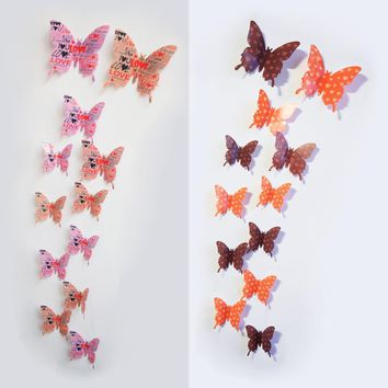Butterfly Tattoos Wall Decals Stickers For Home Frigidaire