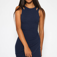 Genna Dress - Navy