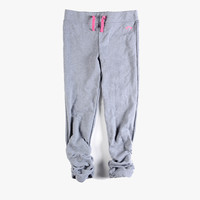 Appaman Girls Ruched Sweats in Heather Mist - FINAL SALE
