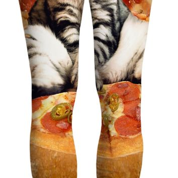 Pizza Cat Yoga Pants