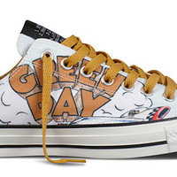 Baggins Shoes : Converse Shoes : Special Collections, Green Day, CTAS GREEN DAY DOOKIE PRINT OX : Buy Online