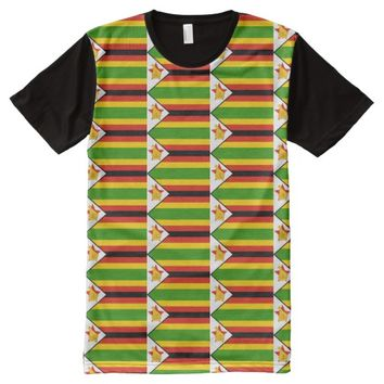 ZIMBABWE (FLAG) 2 All-Over-Print T-Shirt