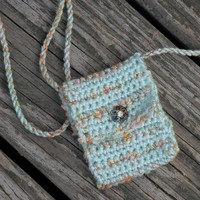 Handmade Spirit Pouch - Summer Wanes - Created with Love and Reiki