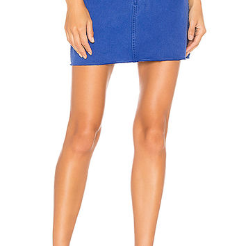 rag & bone/JEAN Moss Skirt in Bright Blue | REVOLVE
