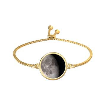 Personalized Moon Phase Gold Aya Bracelet