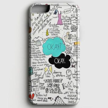 The Fault In Our Stars John Green iPhone 8 Case | casescraft
