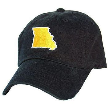 MO Columbia Gameday Hat in Black by State Traditions