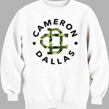 Cameron Dallas Poster Logo Sweater for Mens Sweater and Womens Sweater *