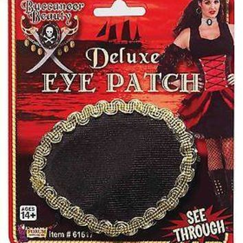 Deluxe Pirate Eye Patch