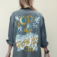 GOD GROWS HIS OWN // VTG ARMY JACKET « Sugarhigh Lovestoned