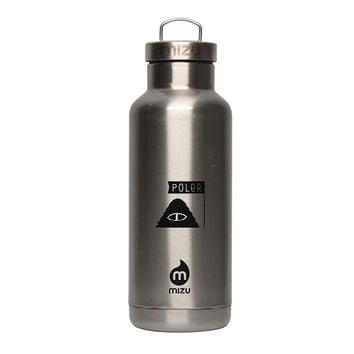 Poler x Mizu V6 Water Bottle - Sunset Stainless