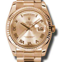 Rolex Day-Date Mens Automatic Watch 118235CRP