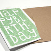 HAPPY BIRTHDAY TO AMBER! by Cari A. on Etsy