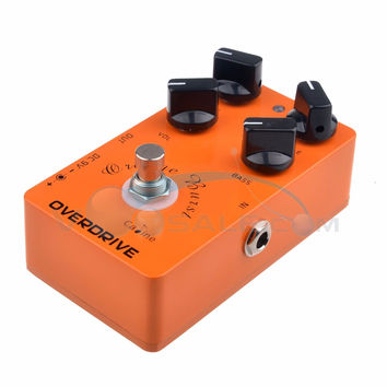 CP-18 OD Guitar Pedals Overdrive Guitar Effect Pedal Orange True Bypass CP18 Caline Guitar Amplifier OD Effect Pedal