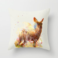 I  Will Be Back One day Throw Pillow by beart24