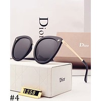 DIOR 2018 new driving women's polarized color film sunglasses #4