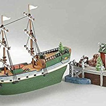 DEPT 56 NEW ENGLAND VILLAGE THE EMILY LOUISE RETIRED SET OF 2 #56581 BRAND NEW