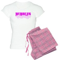 Bubbles Jammies - Pink Bubbles Pajamas - Girl Tease