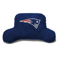 New England Patriots NFL Bedrest Pillow