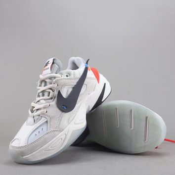 Trendsetter Off White X Nike M2k Tekno  Women Men Fashion Casual Sneakers Sport Shoes